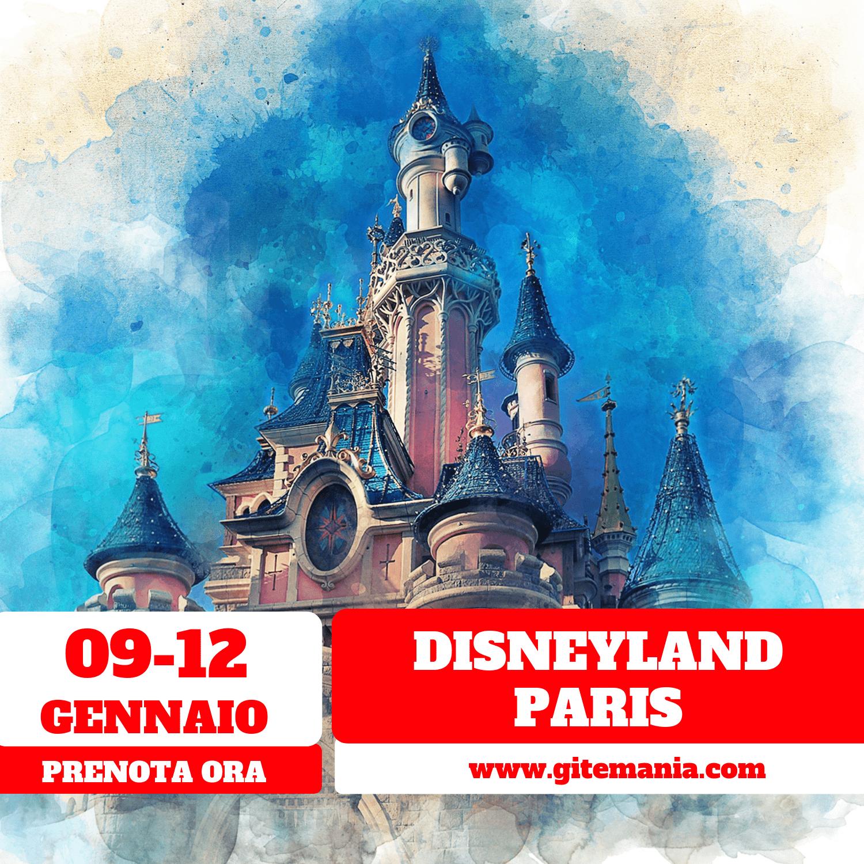 Calendario Mirabilandia 2020.Disneyland Paris Parigi Dal 09 Al 12 Gennaio 2020